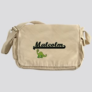 Malcolm Classic Name Design with Din Messenger Bag