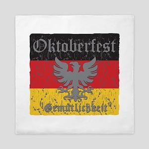 Oktoberfest Flag and Eagle Queen Duvet