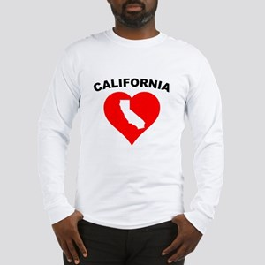 California Heart Cutout Long Sleeve T-Shirt