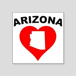 Arizona Heart Cutout Sticker