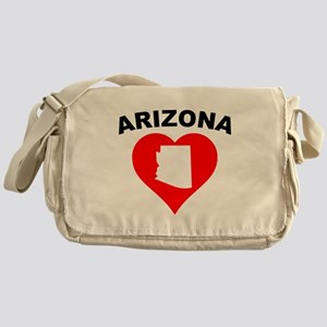 Arizona Heart Cutout Messenger Bag
