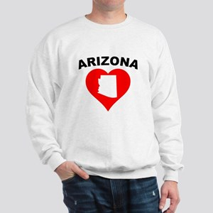 Arizona Heart Cutout Sweatshirt