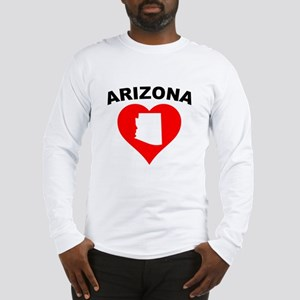 Arizona Heart Cutout Long Sleeve T-Shirt
