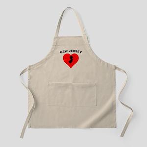 New Jersey Heart Apron