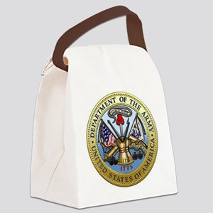 GOVT SEAL - DEPARTMENT OF THE ARM Canvas Lunch Bag