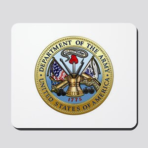 GOVT SEAL - DEPARTMENT OF THE ARMY Mousepad