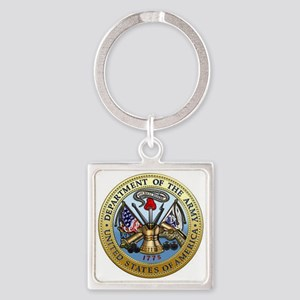 GOVT SEAL - DEPARTMENT OF THE ARMY Keychains