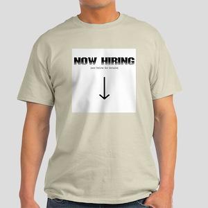 Now hiring Light T-Shirt