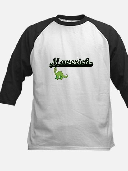 Maverick Classic Name Design with Baseball Jersey