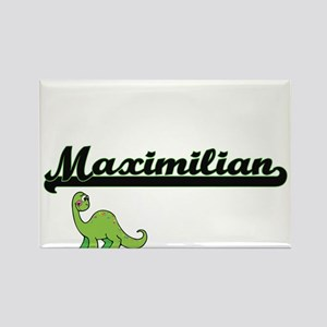 Maximilian Classic Name Design with Dinosa Magnets
