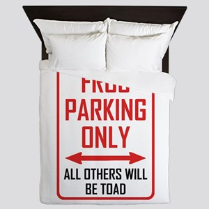 Frog Parking All Others Toad Queen Duvet