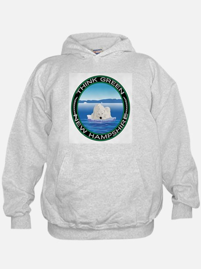Environmental Polar Bear New Hampshire Hoody