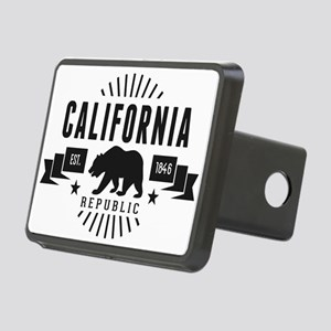 California Republic Rectangular Hitch Cover