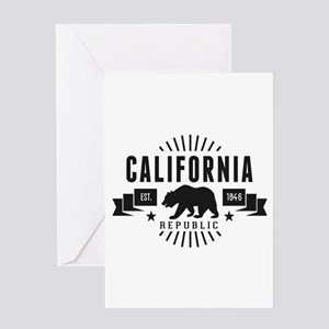 California Republic Greeting Cards