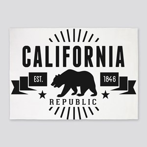 California Republic 5'x7'Area Rug