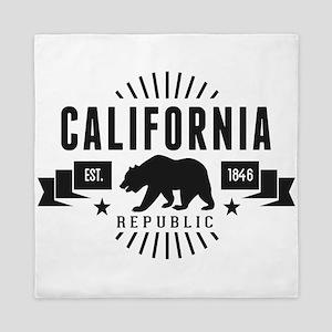 California Republic Queen Duvet