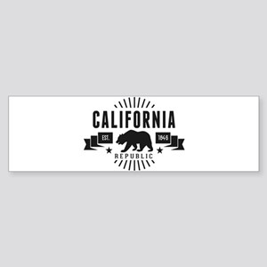 California Republic Bumper Sticker