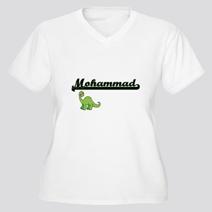 Mohammad Classic Name Design wit Plus Size T-Shirt