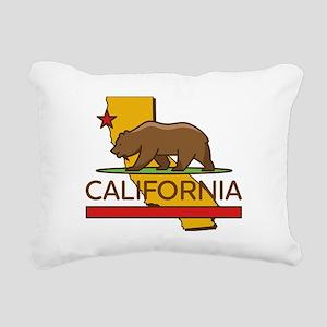 California Republic Rectangular Canvas Pillow