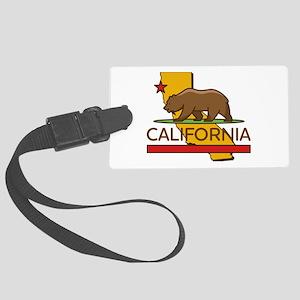 California Republic Large Luggage Tag