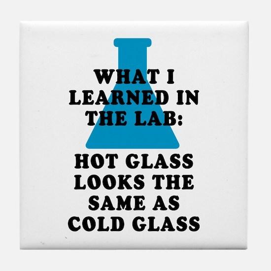 Lab Glass Tile Coaster