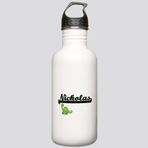 Nickolas Classic Name Stainless Water Bottle 1.0L