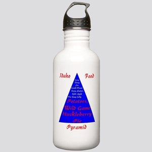 Idaho Food Pyramid Stainless Water Bottle 1.0L
