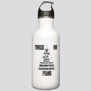 Tennessee Food Pyramid Stainless Water Bottle 1.0L
