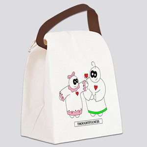 1 LUV  Canvas Lunch Bag
