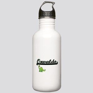Oswaldo Classic Name D Stainless Water Bottle 1.0L