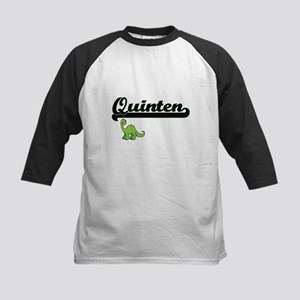 Quinten Classic Name Design with D Baseball Jersey