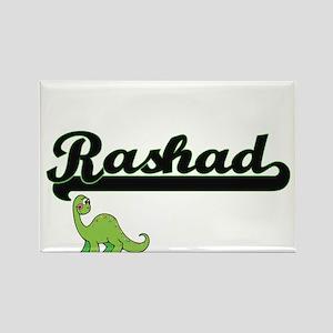 Rashad Classic Name Design with Dinosaur Magnets