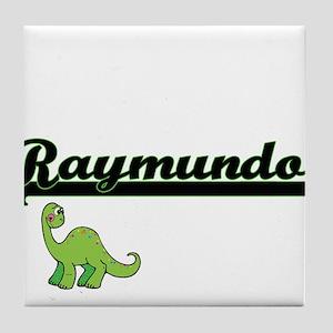 Raymundo Classic Name Design with Din Tile Coaster