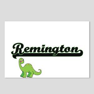 Remington Classic Name De Postcards (Package of 8)