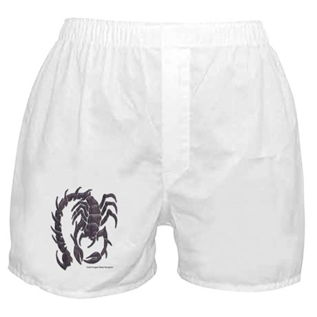 Cold Forged Steel Scorpion Boxer Shorts