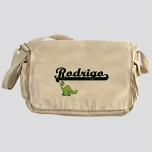 Rodrigo Classic Name Design with Din Messenger Bag