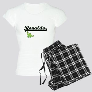 Ronaldo Classic Name Design Women's Light Pajamas
