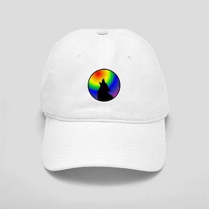 Wolf & Circle Gay Pride Cap