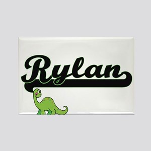 Rylan Classic Name Design with Dinosaur Magnets