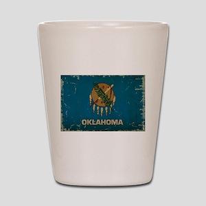 Oklahoma State Flag Shot Glass