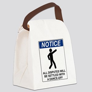 Notice Dance Off Canvas Lunch Bag