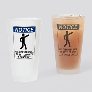 Notice Dance Off Drinking Glass