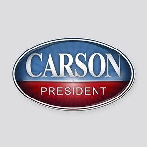 Dr. Ben Carson for President 2016 Oval Car Magnet