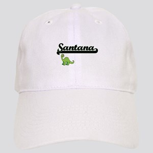 Santana Classic Name Design with Dinosaur Cap
