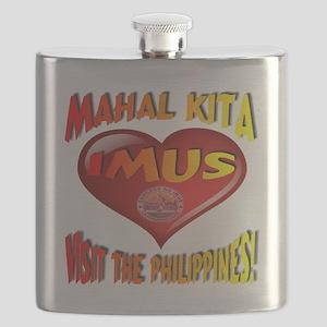 Mahal Kita IMUS Visit The Philippines Flask