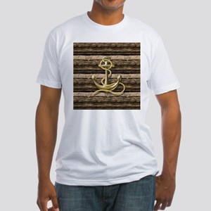 shabby chic vintage anchor T-Shirt