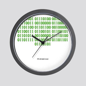 It's all geek to me Wall Clock