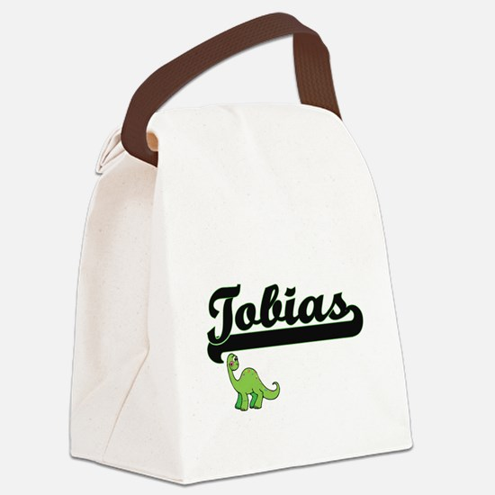 Tobias Classic Name Design with D Canvas Lunch Bag
