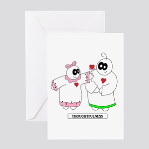 1 LUV - Thoughtfulness Greeting Cards