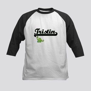 Tristin Classic Name Design with D Baseball Jersey